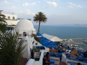 Sidi Bou Said, orasul alb-albastru