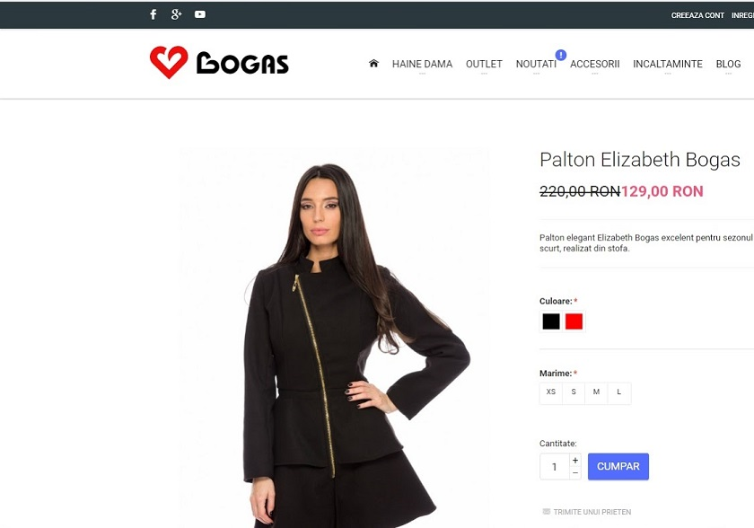 palton ieftin