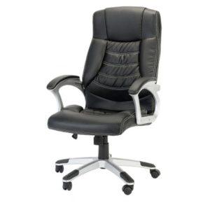 Un scaun directorial bun pentru sef si trei scaune de birou ieftine pentru noi