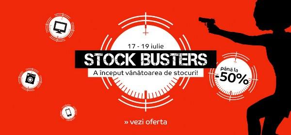 Stock Busters, preturi mai bune ca de black friday